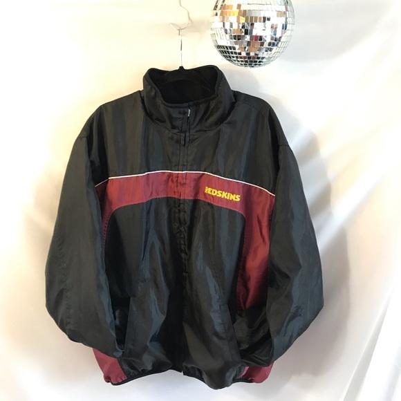 best service 2606c 8016d Washington Redskins NFL Reversible Fleece Jacket